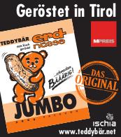Teddybär Erdnüsse geröstet in Tirol