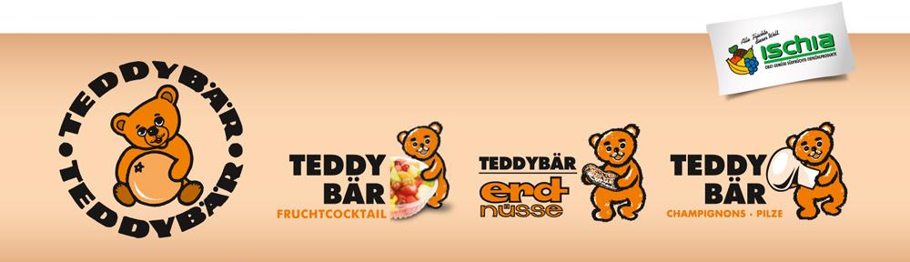 Teddybär Markenprodukte